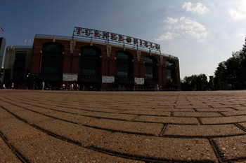ATLANTA, GA - JUNE 01:  A general view of the outside of Turner Field before the Atlanta Braves face the San Diego Padres on June 1, 2011 in Atlanta, Georgia.  (Photo by Kevin C. Cox/Getty Images)