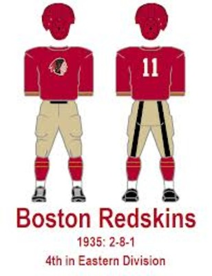 1933 Boston Redskins