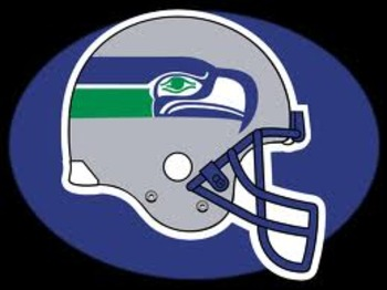 Seahawks original helmet design