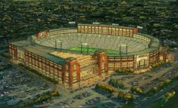 One NFL stadium which will never display a corporate name: Lambeau Field