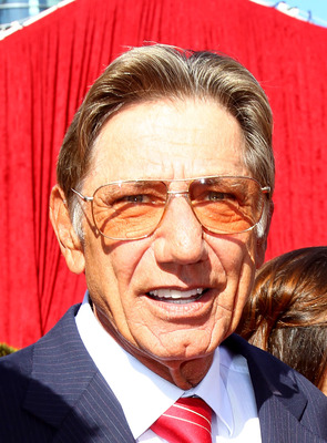 LOS ANGELES, CA - JULY 14:  Former NFL quarterback Joe Namath arrives at the 2010 ESPY Awards at Nokia Theatre L.A. Live on July 14, 2010 in Los Angeles, California.  (Photo by Alexandra Wyman/Getty Images for ESPY)