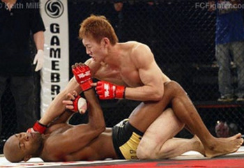Will Yushin Okami have Anderson Silva on his back at UFC 134?
