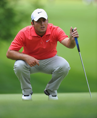 TURIN, ITALY - JUNE 11:  Francesco Molinari of Italy in action during the third round of  BMW Italian Open at Royal Park I Roveri on June 11, 2011 in Turin, Italy.  (Photo by Stuart Franklin/Getty Images)