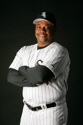TUCSON, AZ - FEBRUARY 24:  Razor Shines of the Chicago White Sox poses for a portrait during Chicago White Sox Photo Day at Tucson Electric Park on February 24, 2007 in Tucson, Arizona.  (Photo by Jeff Gross/Getty Images)