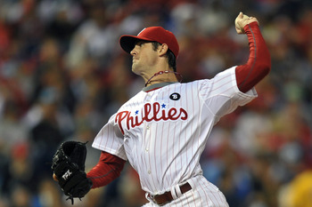 PHILADELPHIA, PA - JUNE 14: Cole Hamels #35 of the Philadelphia Phillies delivers a pitch during the game against the Florida Marlins at Citizens Bank Park on June 14, 2011 in Philadelphia, Pennsylvania. (Photo by Drew Hallowell/Getty Images)