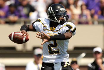 If App State is going to pull off this shocker, they will need a big game from QB and FCS All American DeAndre Presley