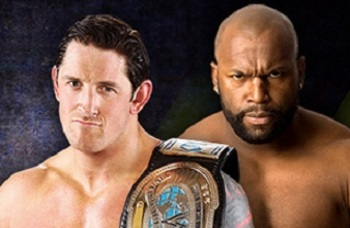 Wade Barrett will defend the IC Title agianst Ezekiel Jackson, without help from The Corre