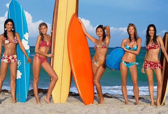 Sunseasurfsurfergirlsbikiniwallpaperdesktophothdawsome_crop_650x440