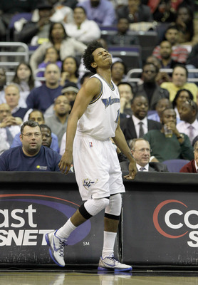 WASHINGTON, DC - MARCH 14: Nick Young #1 of the Washington Wizards during the first half against the Oklahoma City Thunder at the Verizon Center on March 14, 2011 in Washington, DC. NOTE TO USER: User expressly acknowledges and agrees that, by downloading