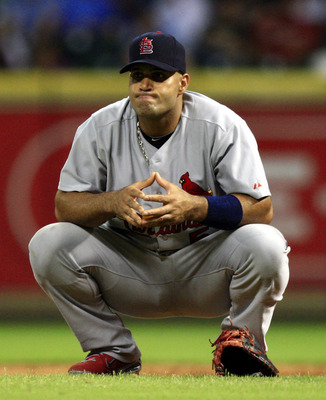 Will Pujols stay in a Cardinals uniform after this season?