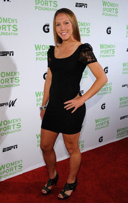 NEW YORK - OCTOBER 12:  Professional Soccer Player Lauren Cheney attends the 31st Annual Salute to Women in Sports gala at The Waldorf-Astoria on October 12, 2010 in New York City.  (Photo by Bryan Bedder/Getty Images)