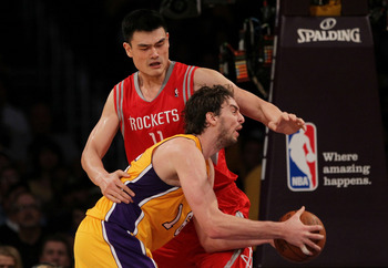 Yao was a great player. While he lasted.