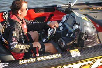 Kevin Vandam-current points leader