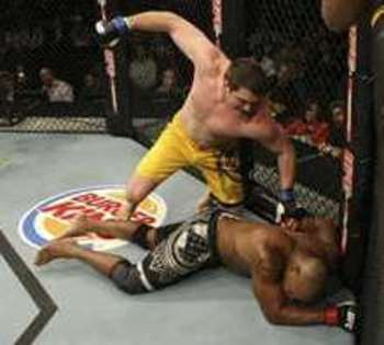 Matt Mitrione defeating Marcus Jones