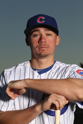 MESA, AZ - FEBRUARY 22:  Steve Clevenger #74 of the Chicago Cubs poses for a portrait during media photo day at Finch Park on February 22, 2011 in Mesa, Arizona.  (Photo by Ezra Shaw/Getty Images)