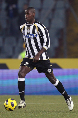 UDINE, ITALY - FEBRUARY 05:  Valencia Cristian Medhi Zapata of Udinese Calcio in action during the Serie A match between Udinese Calcio and UC Sampdoria at Stadio Friuli on February 5, 2011 in Udine, Italy.  (Photo by Gabriele Maltinti/Getty Images)