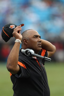 Marvin Lewis is stressed