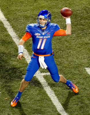 Can Kellen Moore and Boise State knock off another big name program to start their year?