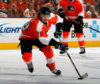 Claude Giroux is one Flyer who could possibly find himself in a different uniform next year, could a trade with Edmonton be in his future?