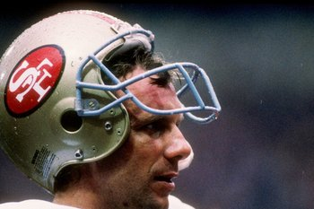 Joe Montana led the 49ers to many victories but also some heartbreaking defeats in the playoffs.