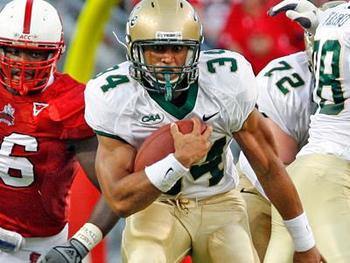 Tribe tailback Jonathan Grimes is perhaps the best back in the FCS