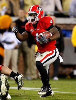 UGA running back Caleb King