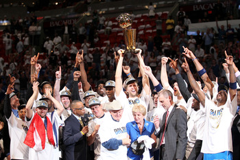 The Dallas Mavericks won the NBA Championship after clinching Game 6 in Miami.