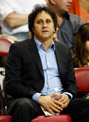 LAS VEGAS - OCTOBER 13:  Palms Casino Resort President George Maloof watches a preseason game between the Sacramento Kings and the Los Angeles Lakers at the Thomas & Mack Center October 13, 2010 in Las Vegas, Nevada. The Lakers won 98-95. NOTE TO USER: Us