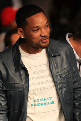 LAS VEGAS - MAY 01:  Actor Will Smith attends the Floyd Mayweather Jr. and Shane Mosley welterweight fight at the MGM Grand Garden Arena on May 1, 2010 in Las Vegas, Nevada.  (Photo by Jed Jacobsohn/Getty Images)