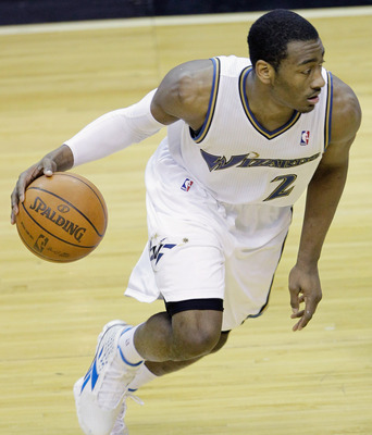 John Wall, last year's first overall selection