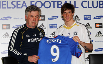 Fernando Torres Moves From Liverpool to Chelsea... For £50million