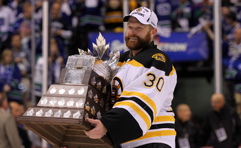 Tim Thomas already has a Conn Smythe and Stanley Cup Championship this season. On Wednesday night he'll cap it off with a Vezina Trophy, awarded annually to the league's most outstanding goaltender.