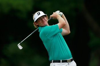 BETHESDA, MD - JUNE 16:  Brandt Snedeker hits his tee shot on the second hole during the first round of the 111th U.S. Open at Congressional Country Club on June 16, 2011 in Bethesda, Maryland.  (Photo by Chris Trotman/Getty Images)