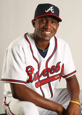 LAKE BUENA VISTA, FL - FEBRUARY 21: Julio Teheran #66 of the Atlanta Braves during Photo Day at  Champion Stadium at ESPN Wide World of Sports of Complex on February 21, 2011 in Lake Buena Vista, Florida. (Photo by Mike Ehrmann/Getty Images)