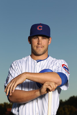 MESA, AZ - FEBRUARY 22:  Brett Jackson #59 of the Chicago Cubs poses for a portrait during media photo day at Finch Park on February 22, 2011 in Mesa, Arizona.  (Photo by Ezra Shaw/Getty Images)