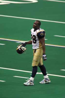 03 Feb 2002:   Marshall Faulk of the St.Louis Rams walks off the field during the game against the New England Patriots at Superbowl XXXVI at the Superdome in New Orleans, Louisiana.  The Patriots defeated the Rams 20-17. DIGITAL IMAGE. Mandatory Credit: