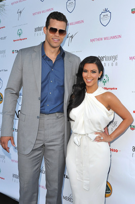 MONACO - MAY 27:  Kim Kardashian (L) and Kris Humphries (R) arrive to attend the AmberLounge Fashion Monaco 2011 on May 27, 2011 in Monaco.  (Photo by Pascal Le Segretain/Getty Images)