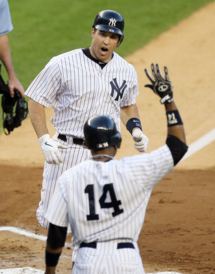 Mark Teixeira and Curtis Granderson have combined for 42 home runs this season, the most of any duo in baseball.