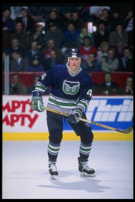 1993-1994: Chris Pronger of the Hartford Whalers.