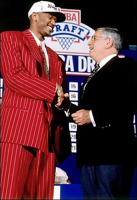 Will anybody surpass Jalen Rose as the worst NBA Draft dresser?