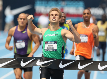 Nick Symmonds has the experience in the 800.