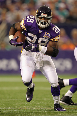 Adrian Peterson touchdown