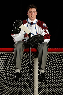 MONTREAL, QC - JUNE 26:  Third overall draft pick, Matt Duchene of the Colorado Avalanche poses for a portrait during the 2009 NHL Entry Draft at the Bell Centre on June 26, 2009 in Montreal, Quebec, Canada.  (Photo by Jamie Squire/Getty Images)