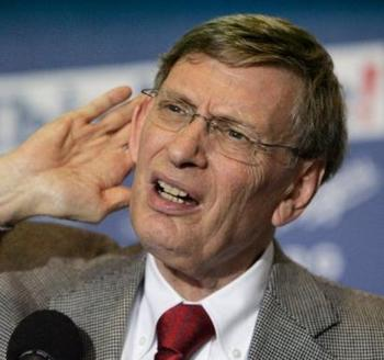 Hey Frank, I couldn't hear that, tell me again who's your daddy.  That's right, it's me, Bud Selig.
