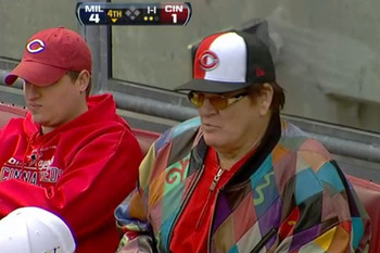 Does this guy look like someone who would bet on baseball?  Yes.