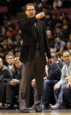 It was either Kiki in a suit, or in a Blazers' uniform. I think I made the right call.