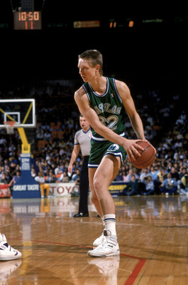 Detlef Schrempf. The Mavericks have done exceptionally well with German born players.