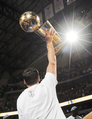 DALLAS, TX - JUNE 16: Owner Mark Cuban of the Dallas Mavericks during the Dallas Mavericks Victory celebration on June 16, 2011 in Dallas, Texas. (Photo by Brandon Wade/Getty Images)
