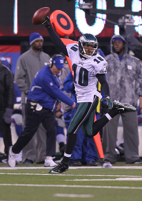 DeSean Jackson had 1,056 receiving yards and 8 total TDs in 2010
