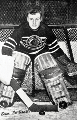 Sam LoPresti the Blackhawks legendary goalie had a legendary night March 4, 1941